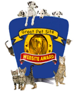 All Pets Directory Website Awards